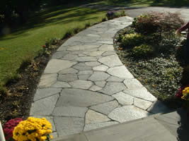 Natural Stone Patio Construction ...