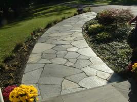 Wonderful Natural Stone Patio Construction ...