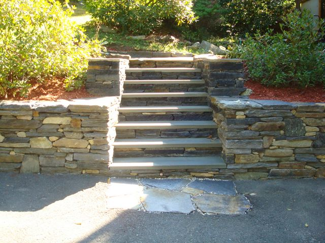 ... Natural Stone Patio Construction ...